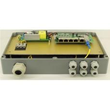 Неуправляемый гигабитный коммутатор TG-P206G с функцией PoE
